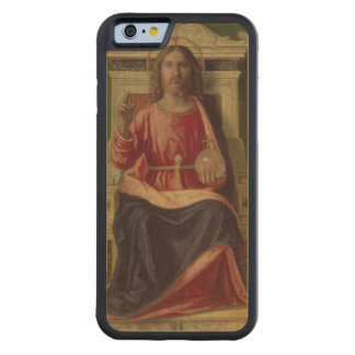 Christ Enthroned, c.1505 Carved® Maple iPhone 6 Bumper Case