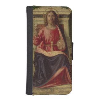 Christ Enthroned, c.1505 iPhone SE/5/5s Wallet