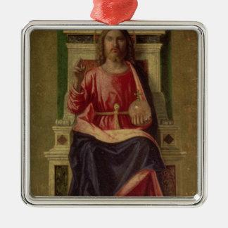 Christ Enthroned, c.1505 Metal Ornament