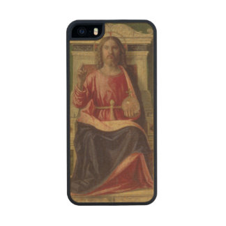 Christ Enthroned, c.1505 Carved® Maple iPhone 5 Case