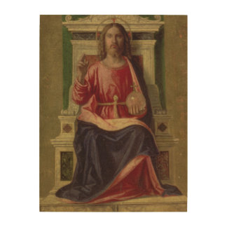 Christ Enthroned, c.1505 Wood Wall Decor