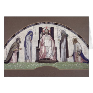 Christ Enthroned Card