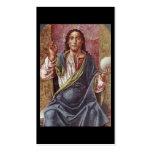 """Christ Enthroned"" Circa 1450 Business Card"