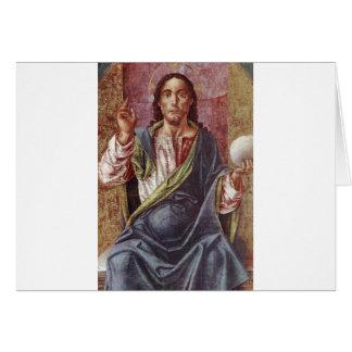"""Christ Enthroned"" circa 1450 Card"