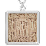Christ Enthroned, from an Evangelistary Necklaces
