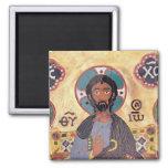 Christ Enthroned Refrigerator Magnets