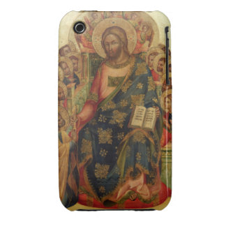 Christ Enthroned with Saints and Angels Handing th Case-Mate iPhone 3 Case