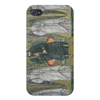 Christ enthroned with the angels 2 iPhone 4/4S case