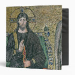 Christ enthroned with the angels vinyl binder