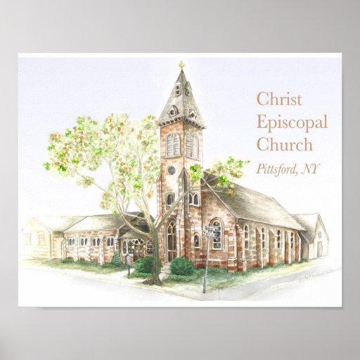 Christ Episcopal Church: Small Poster