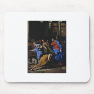Christ Expelling the Money-Changers Mousepad