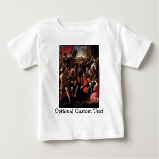 Christ Falls on the Way to Calvary Baby T-Shirt