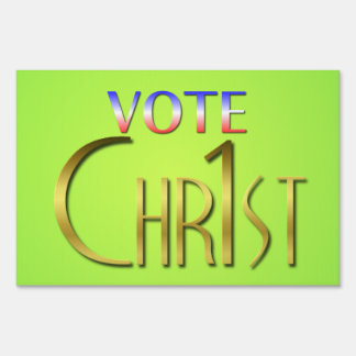 Christ First Sign