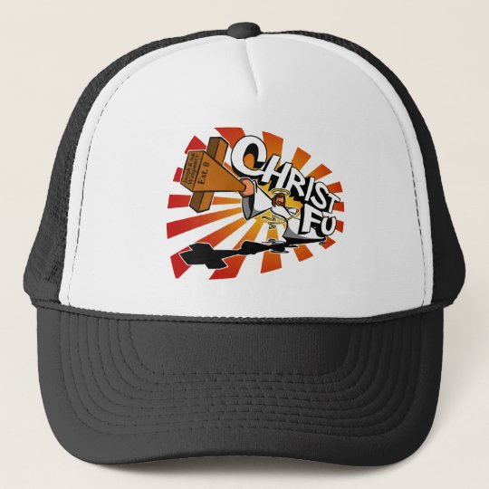 Christ Fu - Love Thy Unconscious Enemy Trucker Hat