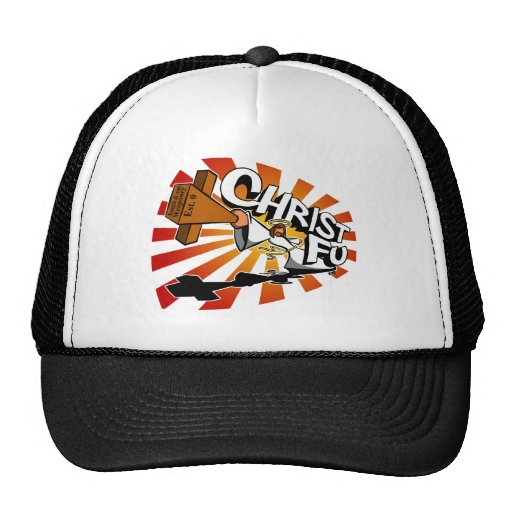 Christ Fu - Love Thy Unconscious Enemy Trucker Hat