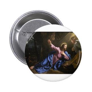 Christ garden faith hope love pray prayer angel 2 inch round button
