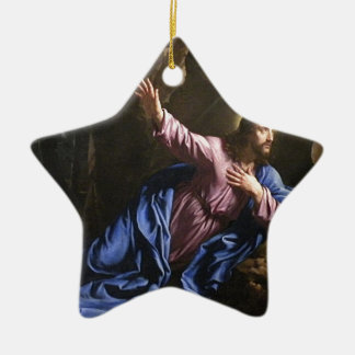 Christ garden faith hope love pray prayer angel ceramic ornament