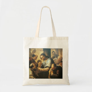 Christ Giving Communion to Apostles Tote