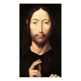Christ Giving His Blessing, c.1478 Double-Sided Standard Business Cards (Pack Of 100)