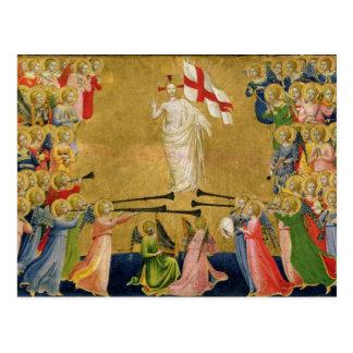 Christ Glorified in the Court of Heaven, 1423-24 Postcard