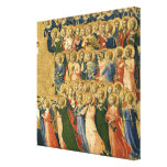 Christ Glorified in the Court of Heaven Canvas Print
