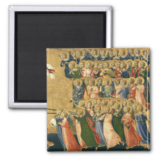 Christ Glorified in the Court of Heaven Magnet