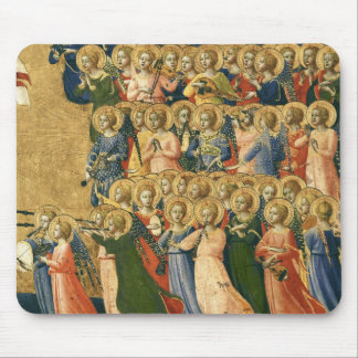 Christ Glorified in the Court of Heaven Mouse Pad