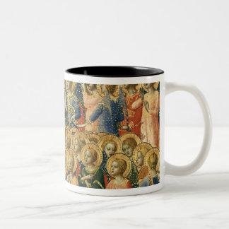 Christ Glorified in the Court of Heaven Two-Tone Coffee Mug