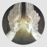 Christ Guarded by Angels by William Blake Stickers