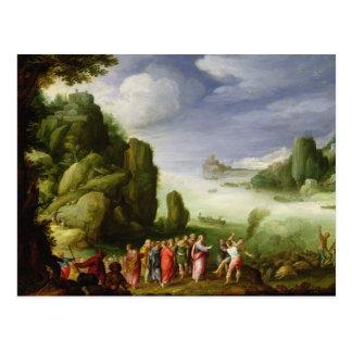 Christ Healing the Possessed of Gerasa, 1608 Postcard