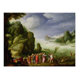 Christ Healing the Possessed of Gerasa, 1608 Poster
