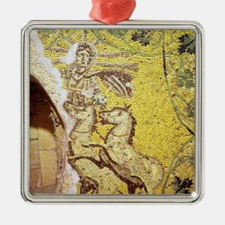Christ Helios Metal Ornament