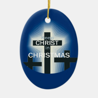 CHRIST in CHRISTMAS Ornament