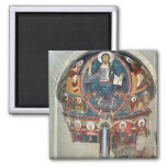 Christ in Glory 2 2 Inch Square Magnet