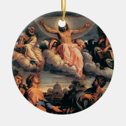 'Christ in Glory' Christmas Ornament