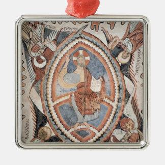 Christ in Glory Metal Ornament