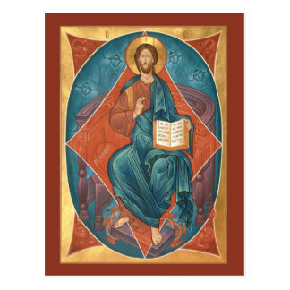 Christ in Glory Prayer Card
