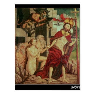 Christ in Hell Postcard