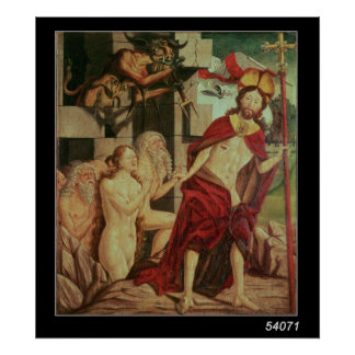 Christ in Hell Print
