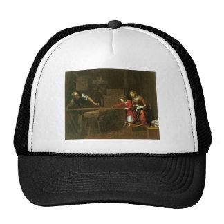 Christ in Joseph's workshop circa 1610-1625 Trucker Hat
