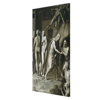 Christ in Limbo 2 Canvas Print