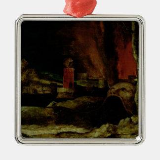 Christ in Limbo 2 Metal Ornament