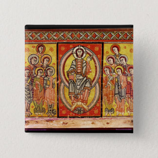 Christ in Majesty 2 Pinback Button
