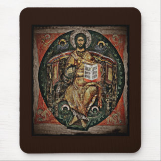 Christ in Majesty Icon 1780 Mouse Pad