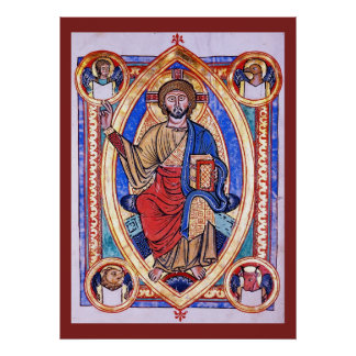 Christ in Majesty Print