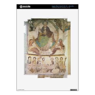 Christ in Majesty with Four Evangelical Symbols an iPad 3 Decal