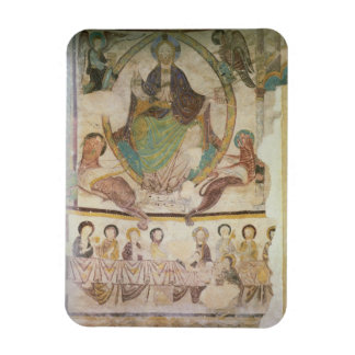 Christ in Majesty with Four Evangelical Symbols an Rectangle Magnets