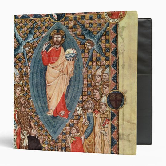 Christ in Majesty with Saints Binder