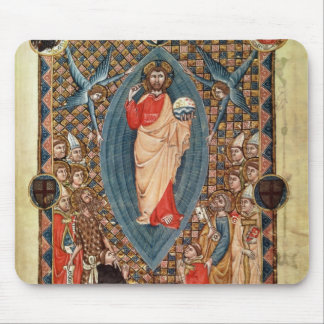 Christ in Majesty with Saints Mouse Pad