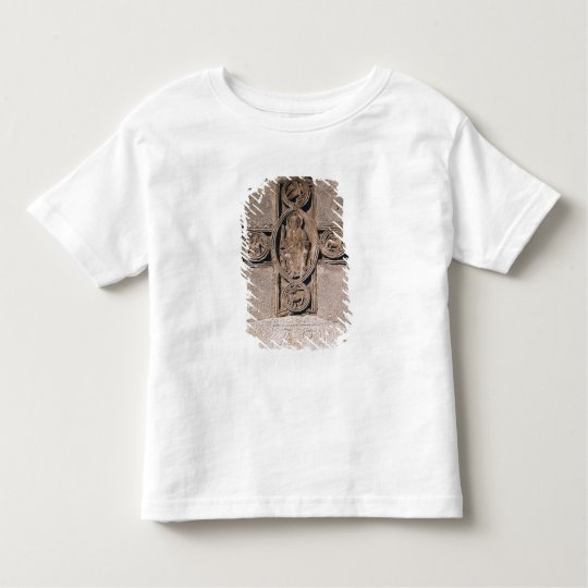 Christ in majesty with symbols of the toddler t-shirt